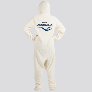 Soccer 2014 AUSTRALIA 1 Footed Pajamas