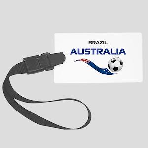 Soccer 2014 AUSTRALIA 1 Large Luggage Tag