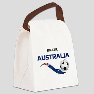 Soccer 2014 AUSTRALIA 1 Canvas Lunch Bag