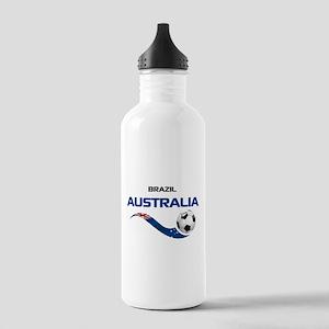 Soccer 2014 AUSTRALIA Stainless Water Bottle 1.0L