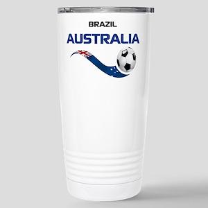 Soccer 2014 AUSTRALIA 1 Stainless Steel Travel Mug