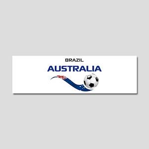 Soccer 2014 AUSTRALIA 1 Car Magnet 10 x 3