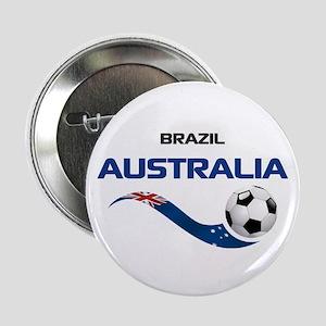 """Soccer 2014 AUSTRALIA 1 2.25"""" Button"""