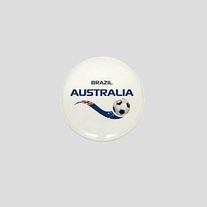 Soccer 2014 AUSTRALIA 1 Mini Button