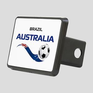 Soccer 2014 AUSTRALIA 1 Rectangular Hitch Cover