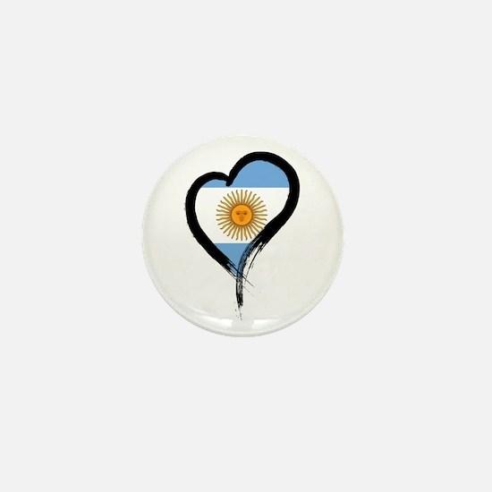 Heart Nation 04 Mini Button