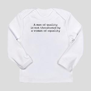 A man of quality Long Sleeve T-Shirt