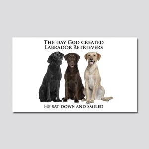 Creation of Labs Car Magnet 20 x 12