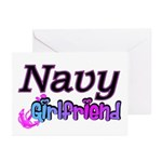 Navy Girlfriend Greeting Cards (Pk of 10)
