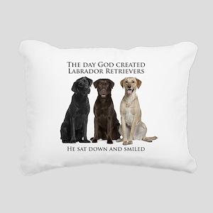 Creation of Labs Rectangular Canvas Pillow