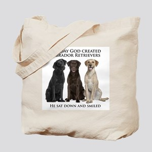 Creation of Labs Tote Bag