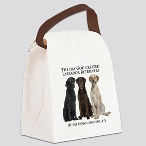 Creation of Labs Canvas Lunch Bag
