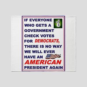 WELFARE USA Throw Blanket
