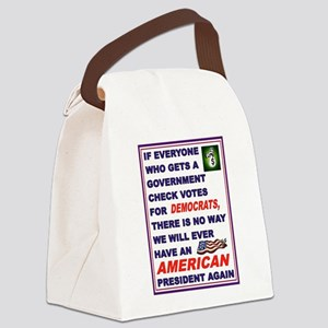 WELFARE USA Canvas Lunch Bag
