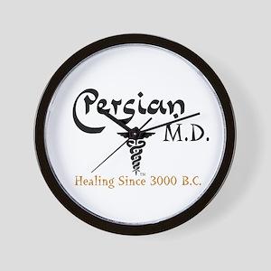 Persian M.D. Wall Clock