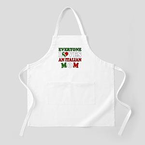 Everyone Loves Ital Mom BBQ Apron