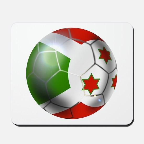 Burundi Football Mousepad