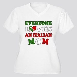 a8530a1959a Italian Mom Women s Plus Size T-Shirts - CafePress