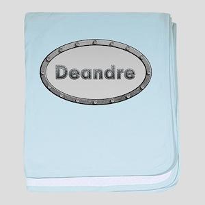 Deandre Metal Oval baby blanket