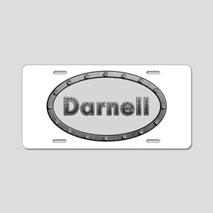 Darnell Metal Oval Aluminum License Plate
