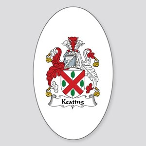 Keating Oval Sticker