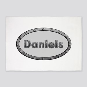 Daniels Metal Oval 5'x7'Area Rug