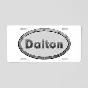 Dalton Metal Oval Aluminum License Plate