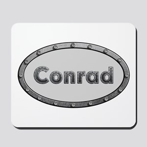 Conrad Metal Oval Mousepad