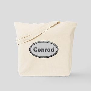 Conrad Metal Oval Tote Bag