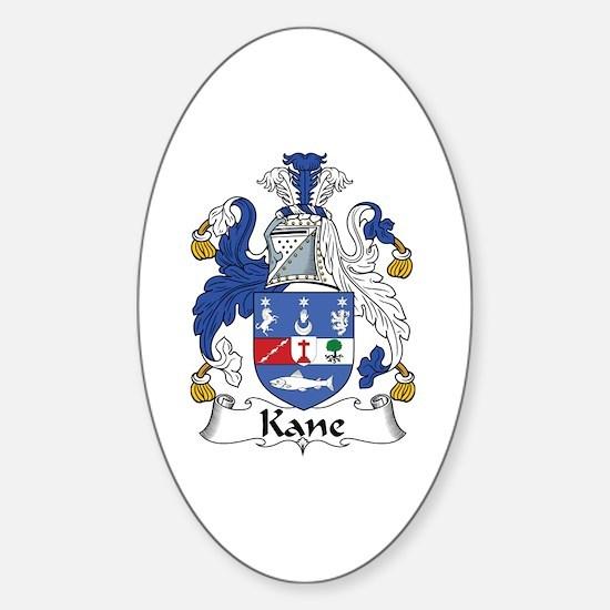Kane Oval Decal