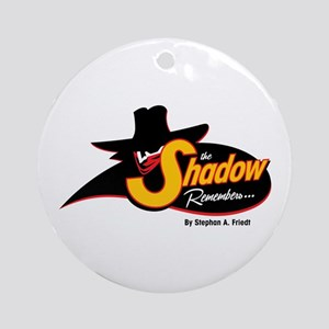 The Shadow Remembers Ornament (Round)