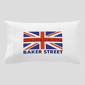 221B Union Jack Pillow Case