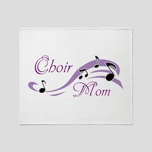 Choir Mom Throw Blanket