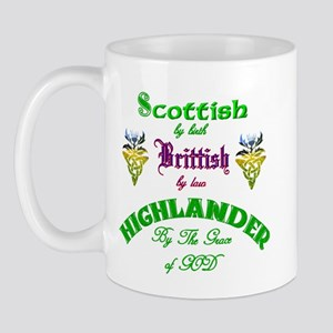 Scottish Highlander Mug