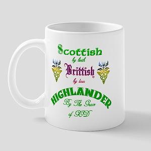 Scottish Highlander Mug
