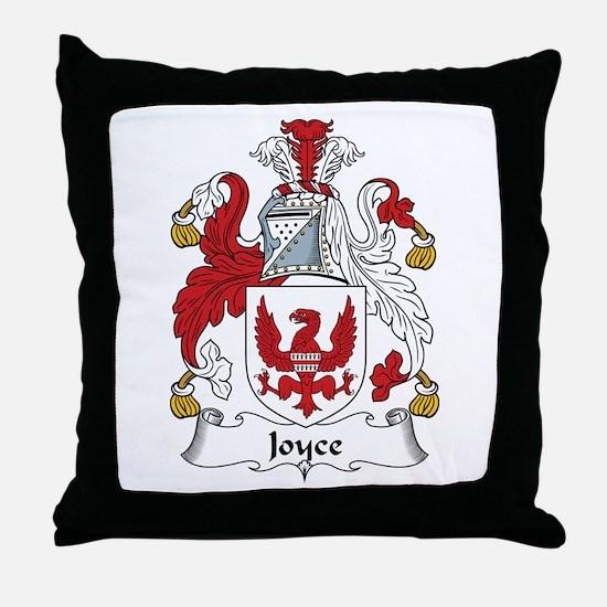 Joyce (Galway) Throw Pillow