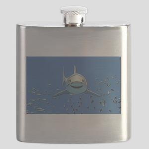Great White Shark Flask