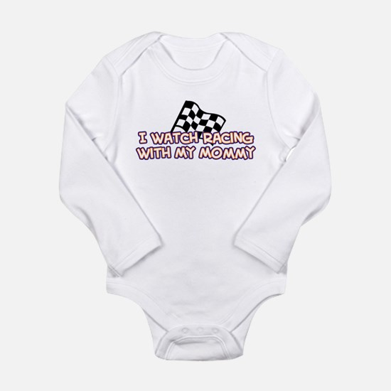 11 Racing Mommy Infant Bodysuit Body Suit