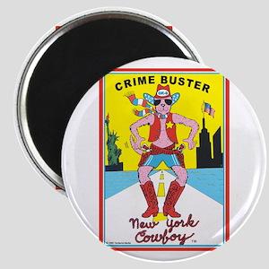 CRIME BUSTER (New York Cowboy Magnet
