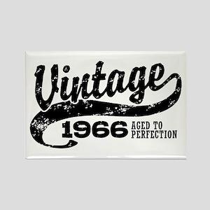 Vintage 1966 Rectangle Magnet