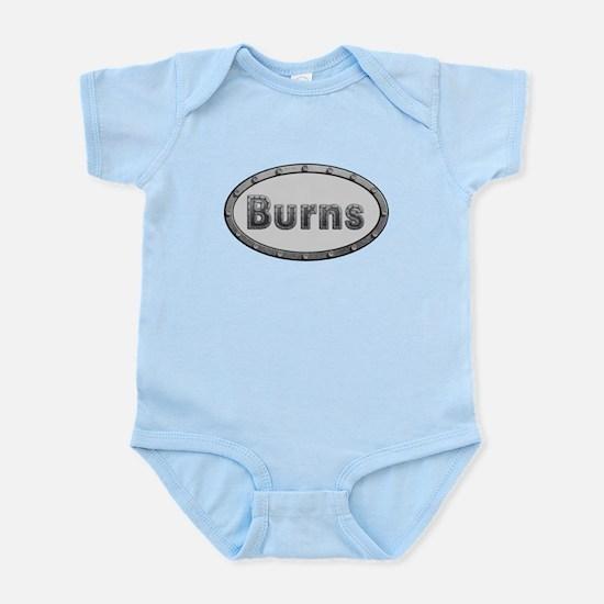 Burns Metal Oval Body Suit