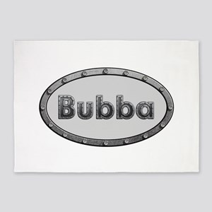Bubba Metal Oval 5'x7'Area Rug