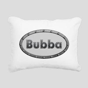 Bubba Metal Oval Rectangular Canvas Pillow