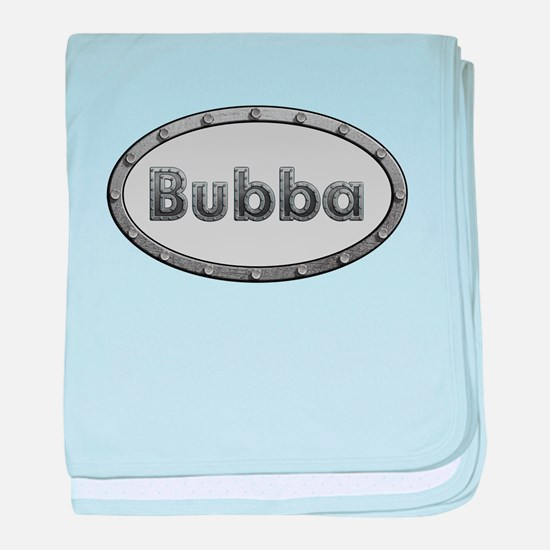 Bubba Metal Oval baby blanket