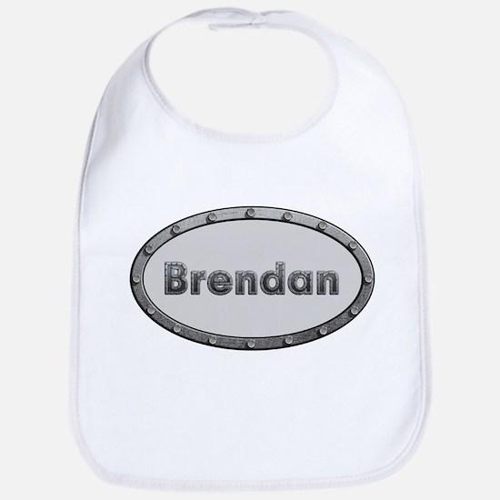 Brendan Metal Oval Bib