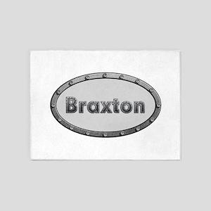 Braxton Metal Oval 5'x7'Area Rug