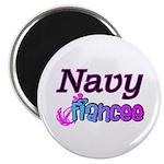 Navy Fiancee Magnet