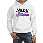 Navy Fiancee Hooded Sweatshirt