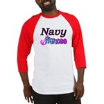 Navy Fiancee Baseball Jersey