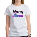 Navy Fiancee Women's T-Shirt